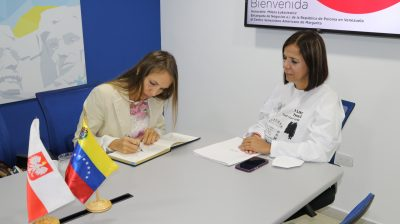 Centro Venezolano Americano de Margarita fomenta relaciones interculturales con Polonia