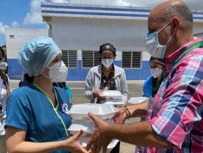 Cevamar agasaja al personal de salud del Hospital Luis Ortega de Porlamar